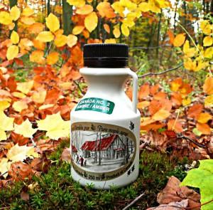 Syrop klonowy Amber (Grade B) 250 ml dzbanek